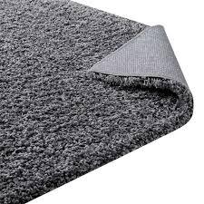 enyssa solid 8x10 area rug in dark gray