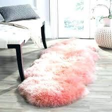 pink faux fur rug pink sheep skin rug sheepskin runner rug catchy fur runner rug best pink faux fur rug