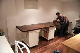 long desks for home office. Perfect DIY Home Office Desk Ideas Desks Interior Design Long For C