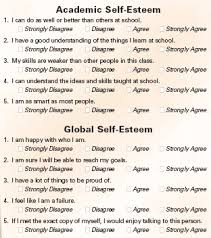 ncsall low self esteem myth or reality  administering the survey