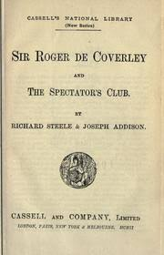 "summary of ""the spectator club"" by sir richard steele the  summary of ""the spectator club"" by sir richard steele"