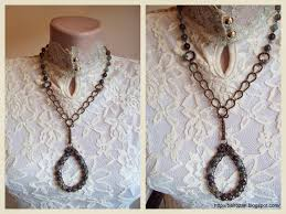 how to make a coiled wire hook bail so that you can alternate pendants