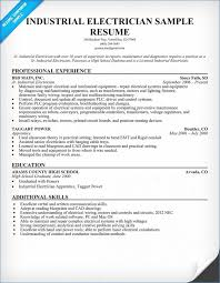 Free Electrician Cv Template 2 Resume Layout Com