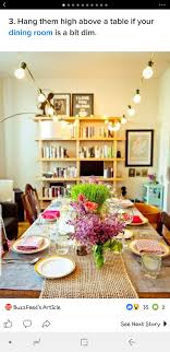 Dining Room Fairy Lights Pin By Jessye Huebner On Home Sweet Home Dining Room
