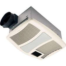 qt series very quiet 110 cfm ceiling bathroom exhaust fan with heater