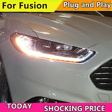 <b>Car styling Head Lamp</b> Case For Ford Mondeo For Fusion 2013 ...
