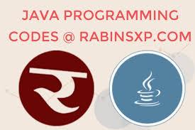Java Program Rabinsxp