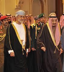 جلالة السلطان هيثم بن طارق آل سعيد يستقبل الملك سلمان