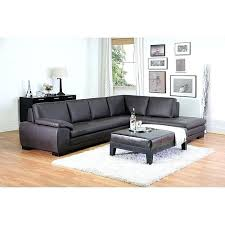 brown leather l couch for living space ideas and luxury