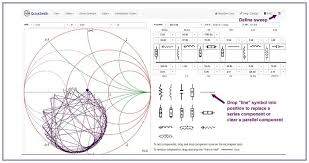 Smith Chart Jpg Quicksmith An Online Smith Chart Based Linear Circuit