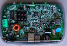 inside the netgear dm602 adsl modem insidegadgets look