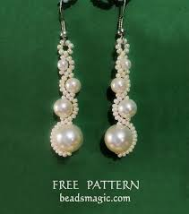 Beaded Earring Patterns For Beginners Amazing Ideas