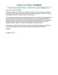 Cover Letters Letter Sample Customer Service Advisor Resume Template