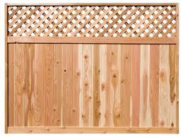 wood fence panels. Diagonal Lattice Top Fence Panels Wood