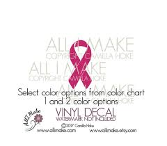 Support Ribbon Color Chart Support Ribbon Support Ribbon Decal Support Ribbon Sticker Support Ribbon Vinyl Awareness Ribbon Awareness Decal Vinyl Decal