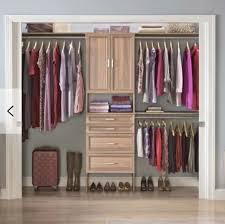 best for large closets closetmaid suite symphony closet system