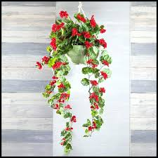 silk flower hanging basket whole artificial flowers outdoor vines faux