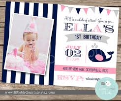free printable birthday party invitations for girls stunning first birthday invitations girl ideas to make free