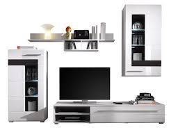 Composizione soggiorno: composizione soggiorno con pensili moderni