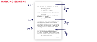 script breakdown sheet breaking down your script with free template hired goons