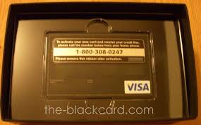 Visa Black Card The Black Card Centurion Card Visa Black Card