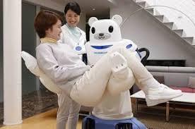 В Японии создан <b>робот</b>-<b>медведь для</b> переноски стариков ...