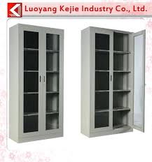 metal cabinet with glass doors high quality sliding glass door antique metal cabinet steel double doors