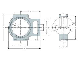 Pedestal Bearing Size Chart T208 T Series Take Up Housing Exterior Spherical Bearing
