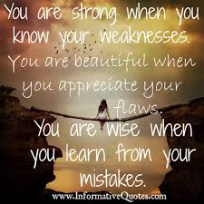 You Are Wise When You Learn From Your Mistakes Informative Quotes Interesting Informative Wise Quotes