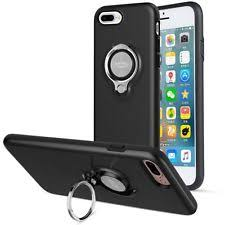 iphone kickstand. iconflang iphone 7 plus case+kickstand 360 degree rotating case shockproof black iphone kickstand h