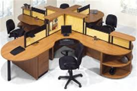 office cubicle desks.  Office Laminate 4 Person Desk Cubicle Workstation Quad Cluster And Office Desks