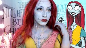 the nightmare before makeup sally