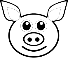 Small Picture Cute Cartoon Pig Coloring PagesCartoonPrintable Coloring Pages
