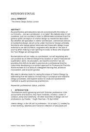 Brief Description Of An Interior Designer Brokeasshome Com