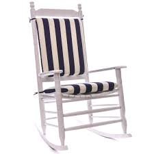 knife edge rocking chair cushion sets in blue and white for furniture accessories ideas