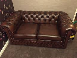 lovely vintage brown leather
