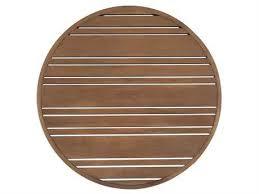 woodard extruded aluminum tri slat 22 round table top