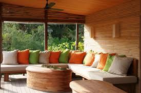 contemporary sunroom furniture. Contemporary White And Cuhsion Sunroom Furniture I