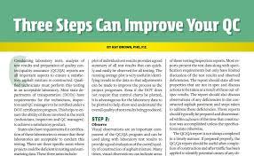 quality assurance technicians three steps can improve your qc asphaltpro magazine