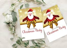 Christmas Invitation Card Details About Christmas Invitation Card 28 Pcs Fill Or Write In Blank Party Supplies Ds In486a