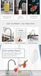 Kitchen Garbage Disposal Manufacturers And Suppliers Ningbo Souken