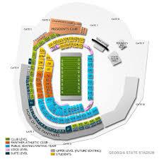 Georgia State Football Seating Chart Georgia State Stadium Tickets