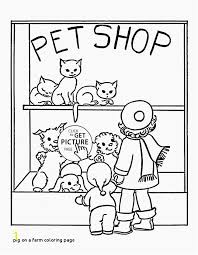 Coloring Pages Of Baby Pigs Pig A Farm Coloring Page Best Cute Pig