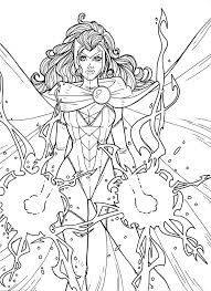 Small Picture 53 best LineArt Scarlet Witch images on Pinterest Marvel comics