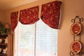 Red Swag Kitchen Curtains Waverly Kitchen Curtains Valances And Swags