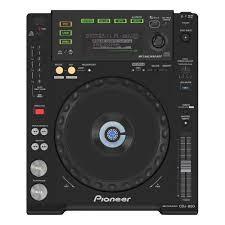 pioneer 850. digital player pioneer cdj 850 3d model max obj fbx mtl 2