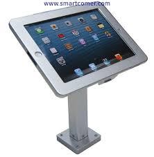 Menu Display Stands Restaurant shop table menu locking display stand brackets for tablet ipad in 99
