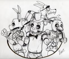 Freddy Fazbear Coloring Page Elegant Golden Drawing At Getdrawings
