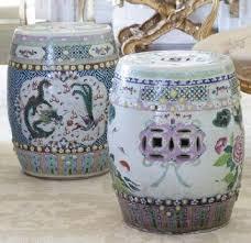 51 chinese porcelain garden stools
