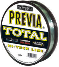 "<b>Леска</b> монофильная <b>Balsax</b> ""<b>Previa Total</b>"", 100 м, 0,16 мм (2,8 кг ..."